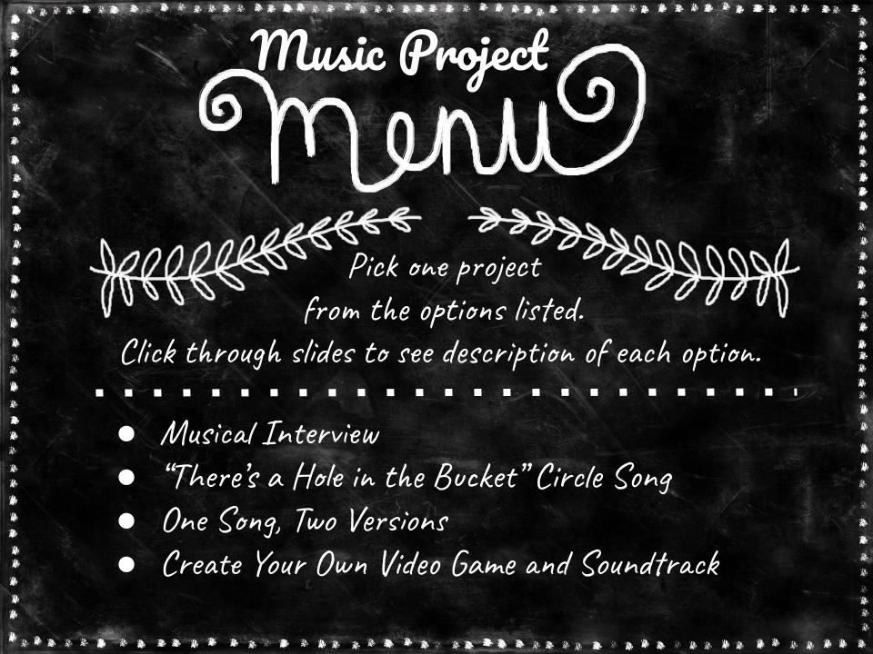 Music Project Menu jpg