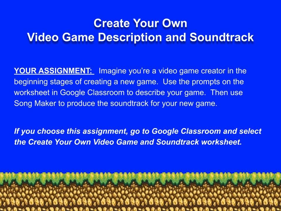 Create Your Own Video Game Soundtrack jpg