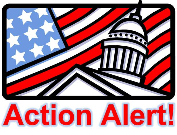 Action Alert - We need your help.