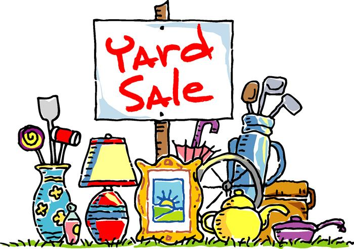 Yard Sale - June 9th